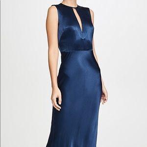 Bec + Bridge Navy Silk Dress - AUS Size 8/US 4